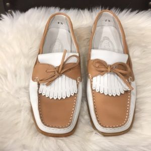 Tods driving shoes, pegs on bottom,8.5